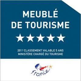 Classement 5 étoiles - Meublés de tourisme